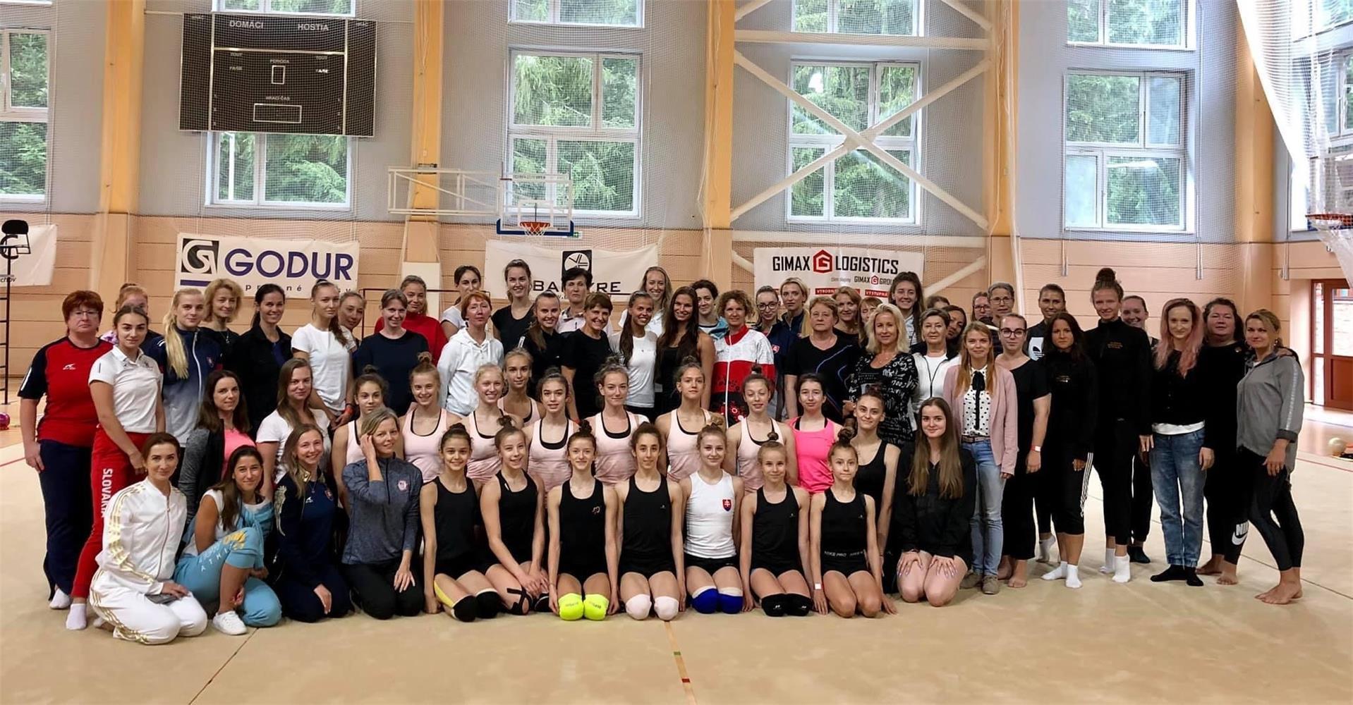 Seminár trénerov a rozhodcov modernej gymnastiky